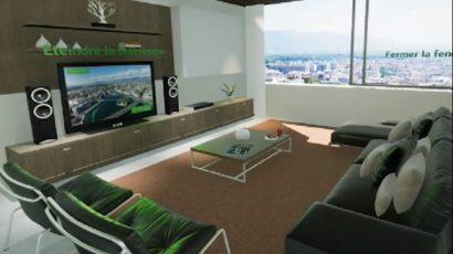 Virtual Reality App for Energy Development